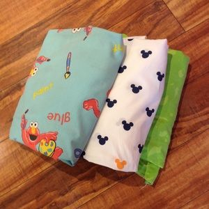 (Free w/any $10+ Purchase) 3 Piece Toddler Bedding